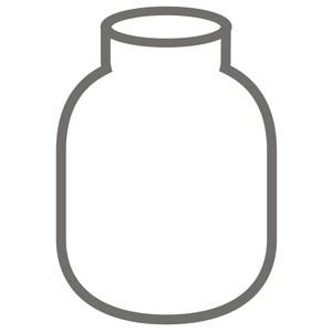 Glaseinsatz 1,0 l