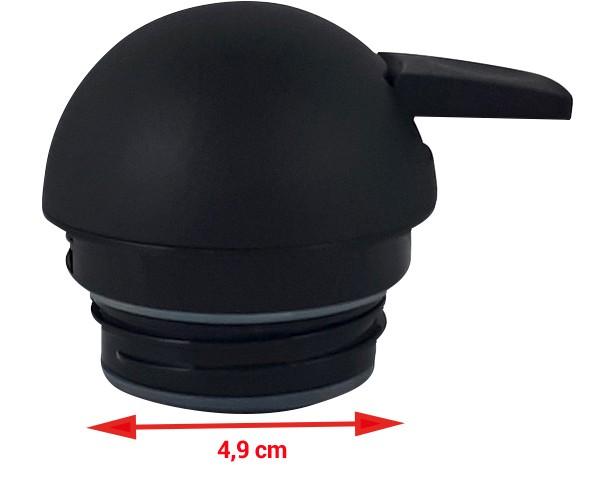 Drehverschluss mit Drucktaste für Helios Enduro Push (Ø 4,9 cm)